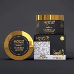 Natural cosmetic butter