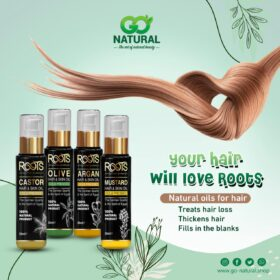 Natural Oils for Hair